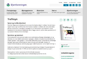 Forside af ojenforeningen.dk/udgivelser/trafiksyn